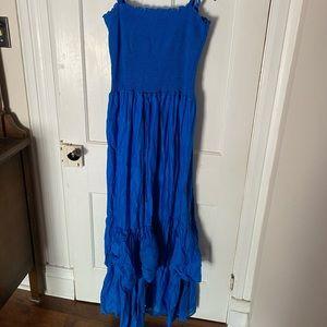 Ralph Lauren blue beach dress